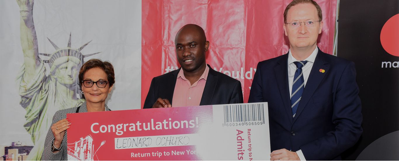 Diamond Trust Bank and Mastercard announce winner of New York trip